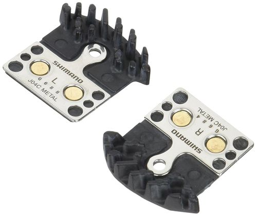 SHIMANO - J04C metal pad and spring, with fin