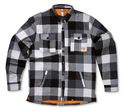FOX 2015 Heritage Loam Ranger Jacket,Black/White/Orange