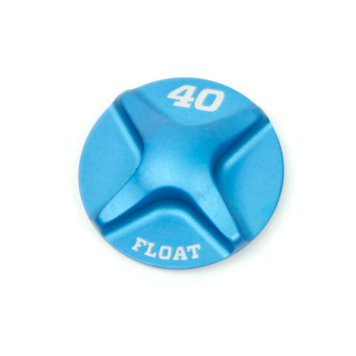 Fox (T) Spring Hardware: 2014 40 FLOAT Air Topcap, Al, Blue Ano