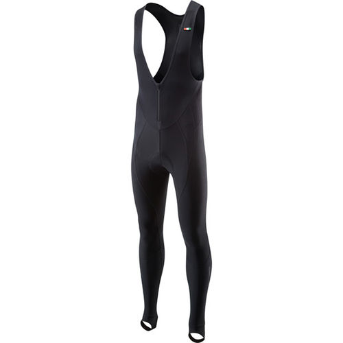 Madison RoadRace Apex Men's Bib Tights With Pad, Black