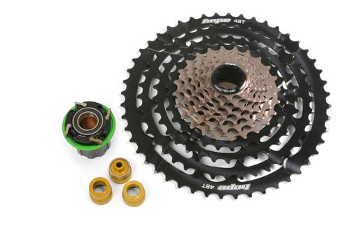 Hope Cassette 11 Speed 10-48T inc. Pro 4 Freehub, Black