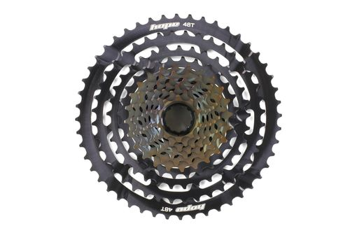 Hope Cassette 11 Speed 10-48T inc. Freehub, Black