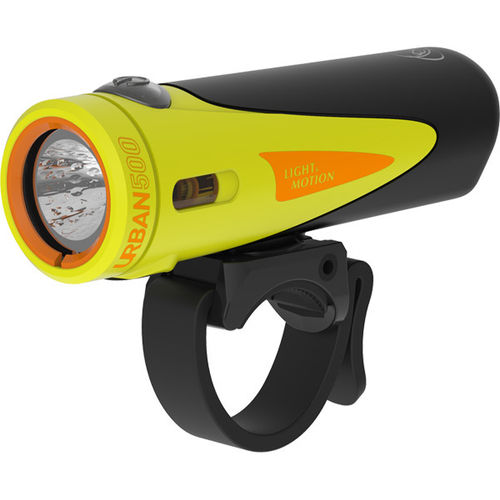 Light and Motion Urban 500 Citraveza (Neon/Black) light system