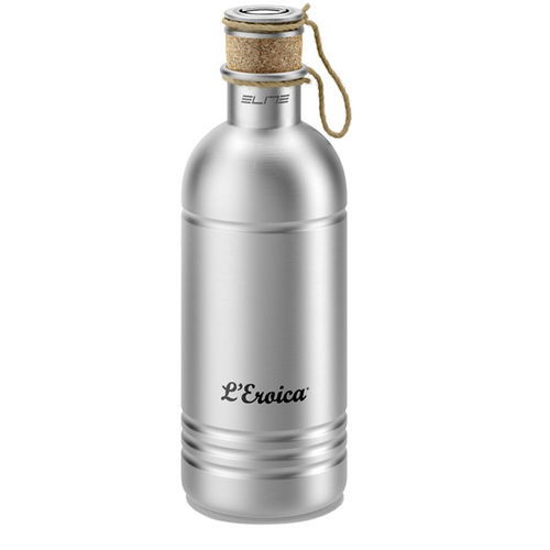 Elite Eroica Aluminium Bottle With Cork Stopper