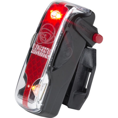 Light & Motion Vis 180 Pro Rear Light - Black Raven, 70 Lumens