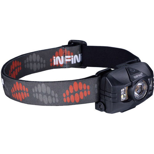 Infini Hawk 100 3 Watt White + Red LEDs - 7 Modes, 3 x AAA Power