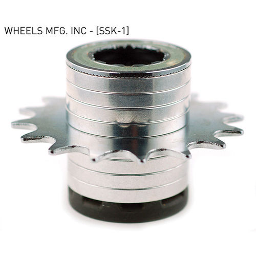 Wheels Manufacturing Single Speed Conversion Kit - For Shimano Freehub Bodies - Spacers Only