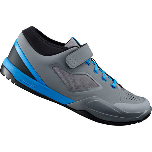 Shimano AM7 (AM701) SPD MTB Shoes - Grey/Blue