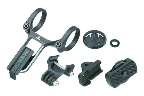 Topeak Ridecase Center Mount With Sports Camera & Gear Adapters