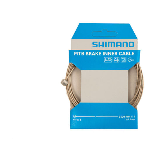 Shimano MTB Tandem Stainless Steel Inner Brake Wire - 1.6 x 3500mm