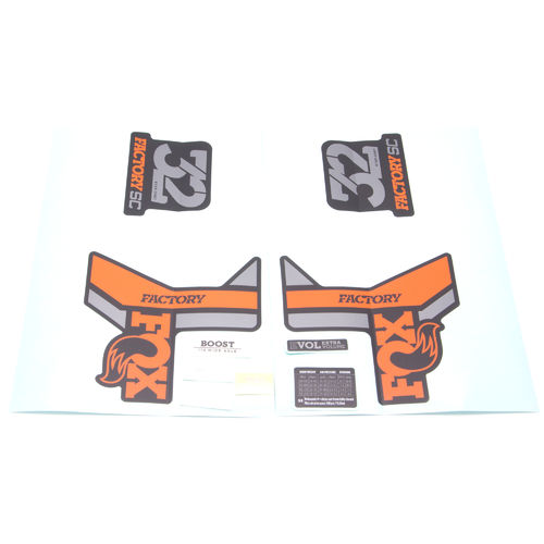 Fox Fork Decal Kit 32 StepCast Factory Series 2018