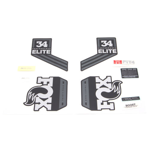Fox Fork Decal Kit 34 Performance Elite Series 2018