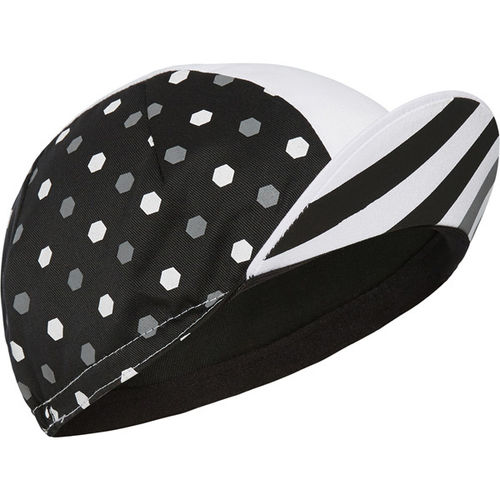 Madison Sportive Poly Cotton Cap - Hex Dots