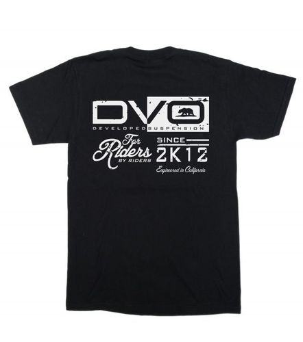 DVO Suspension 2K12 Black T-Shirt