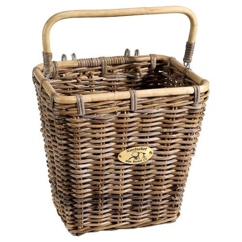 Nantucket Tuckernuck Rattan Rear Pannier Basket