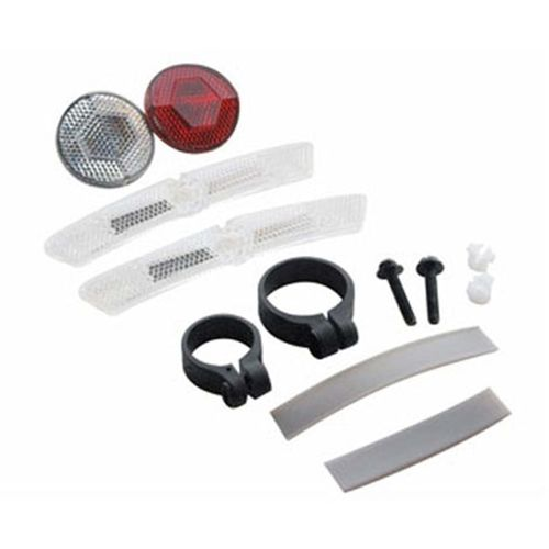 CatEye Bicycle Reflector Kit Front Rear & Wheels