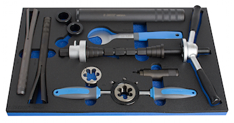 Unior Bike Tool Set in SOS Tool Tray 1600SOS7