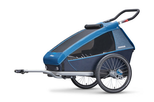 Croozer Kid For 2 PLUS Double Trailer & Accessories Ocean Blue