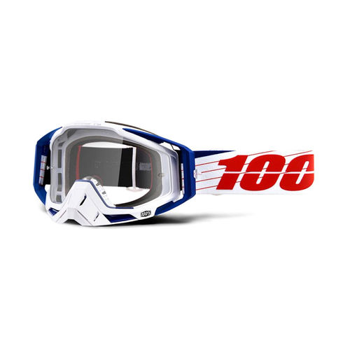 100% Racecraft Goggles - Clear Lens