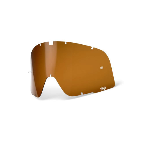 100% Barstow Replacement Dalloz Curved Lens