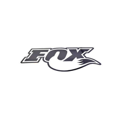 Fox Promotional Decal Black / White