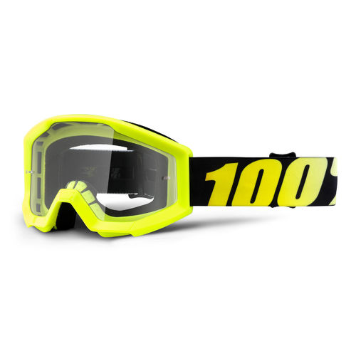 100% Strata Junior Goggles - Clear Lens