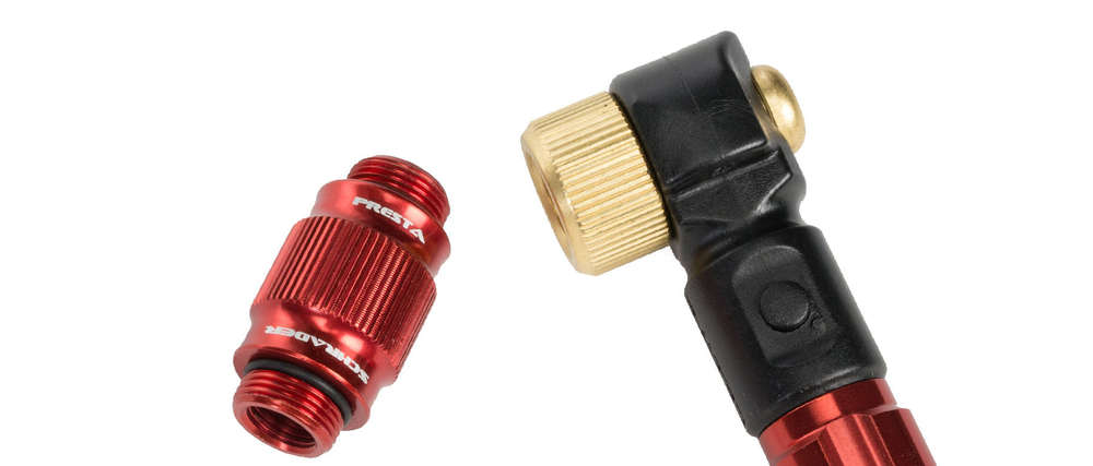 Lezyne ABS-1 Pro HP Chuck Red