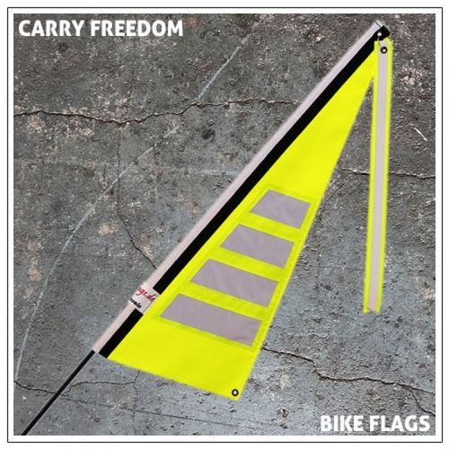 Carry Freedom Bike & Trailer Flags