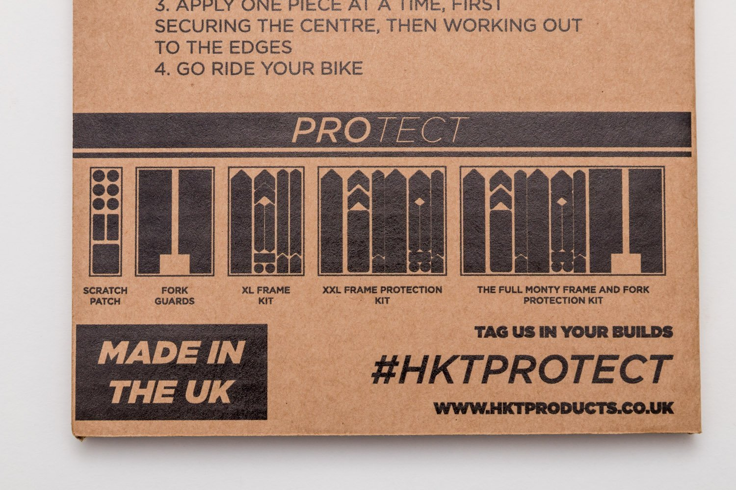 Fork Protection Kit By HKT Protect //// Clear