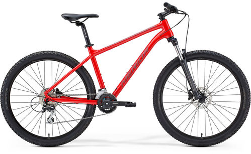 Merida Big Seven 20 Glossy Red Hardtail MTB